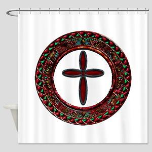 Western Cross Shower Curtain