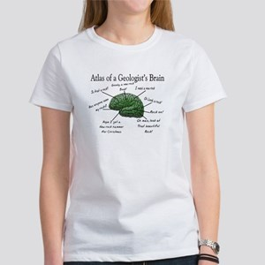 Atlas of a Geologists Brain T-Shirt