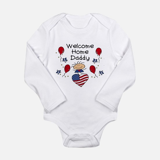 Welcome Home Daddy - Girl Body Suit