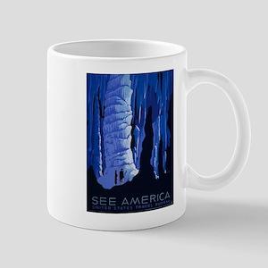 Vintage poster - See America Mugs