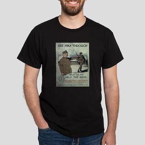 Vintage poster - See Him Through T-Shirt