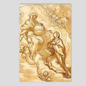 The Trinity by Domenico Piola I Postcards (Package