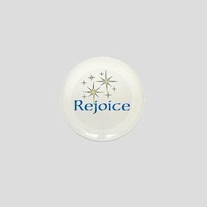 Rejoice, Mini Button