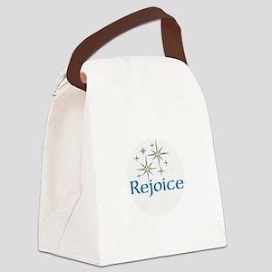 Rejoice, Canvas Lunch Bag