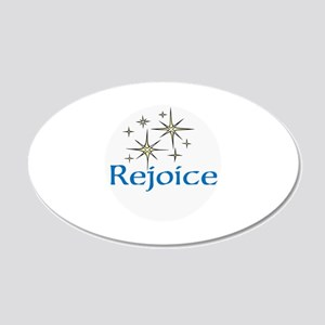 Rejoice, Wall Decal