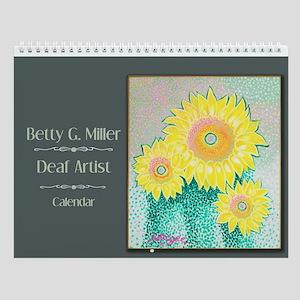 Betty G. Miller, Deaf Artist Wall Calendar