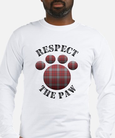 Respect the Paw Long Sleeve T-Shirt