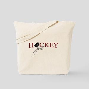 Hockey Girl Tote Bag