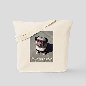 Pugs and Kisses 1 Tote Bag