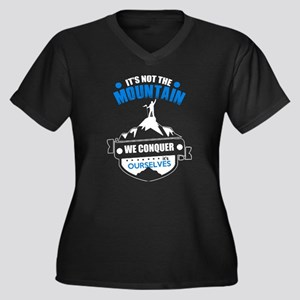 Conquer The Mountain T Shirt Plus Size T-Shirt