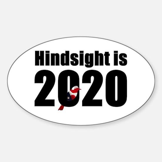 Hindsight is 2020 - Bernie Bird Decal