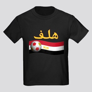 TEAM EGYPT ARABIC GOAL Kids Dark T-Shirt
