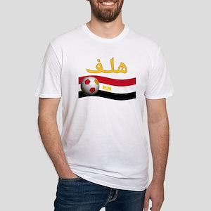 TEAM EGYPT ARABIC GOAL Fitted T-Shirt