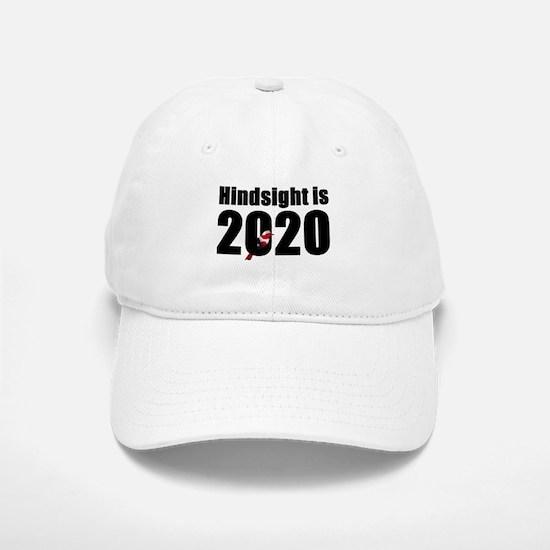 Hindsight is 2020 - Bernie Bird Baseball Baseball Cap