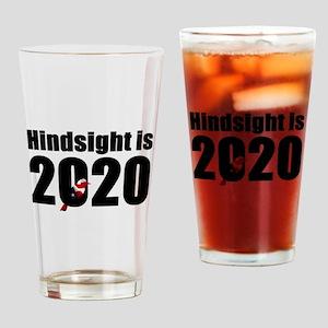Hindsight is 2020 - Bernie Bird Drinking Glass