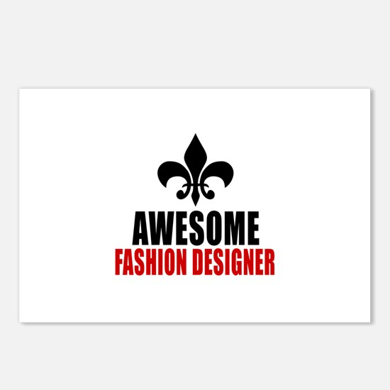 Awesome Fashion design Postcards (Package of 8)
