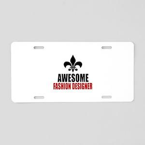 Awesome Fashion design Aluminum License Plate