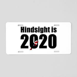 Hindsight is 2020 - Bernie Aluminum License Plate