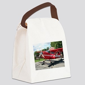 Ski plane, Talkeetna, Alaska Canvas Lunch Bag