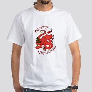 Christmas Octopus T-Shirt