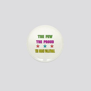 The Few, The Proud, The Beach Volleyba Mini Button