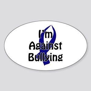 Anti-Bullying Blue Ribbon Sticker