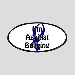 Anti-Bullying Blue Ribbon Patch