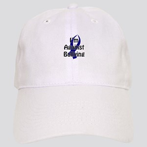 Anti-Bullying Blue Ribbon Baseball Cap