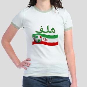 TEAM IRAN ARABIC GOAL Jr. Ringer T-Shirt