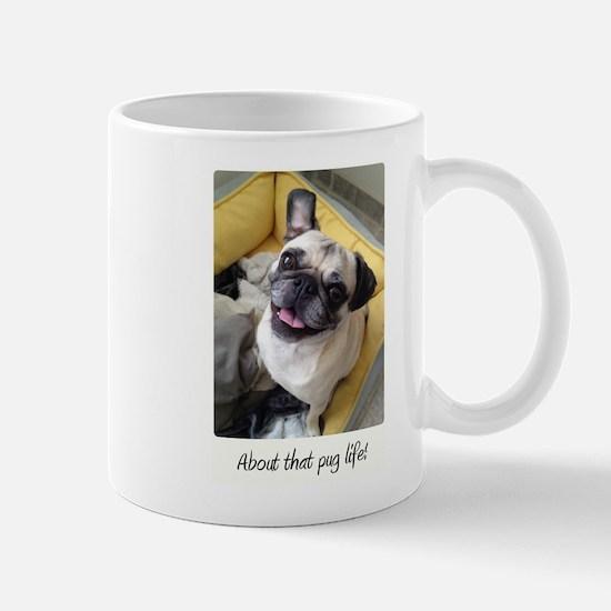 About that pug life! 1 Mugs