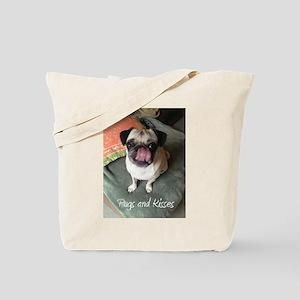 Pugs and Kisses 2 Tote Bag