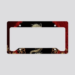 Awesome dragon License Plate Holder
