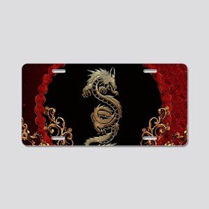 Awesome dragon Aluminum License Plate