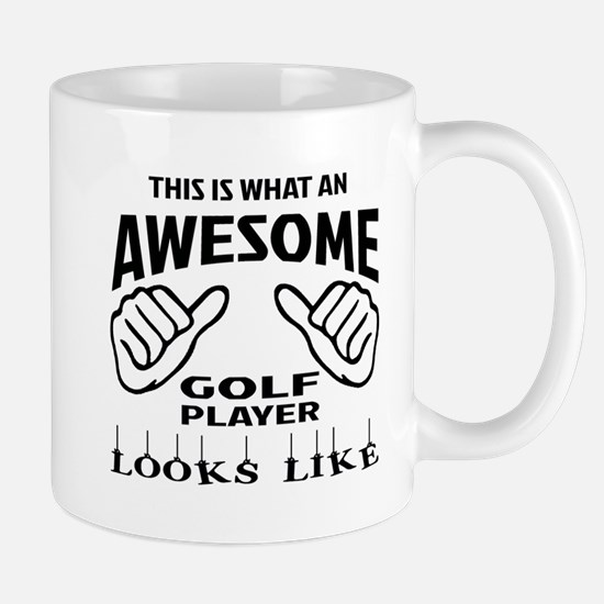 This is what an awesome Golf player Mug