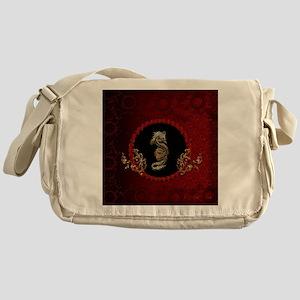 Awesome dragon Messenger Bag