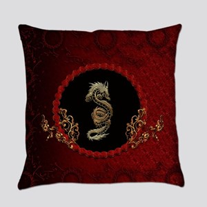 Awesome dragon Everyday Pillow