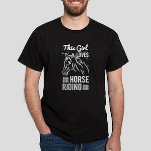 Girls Love Horse Riding T Shirt T-Shirt
