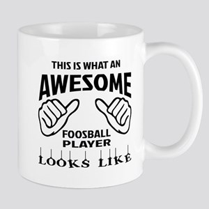 This is what an awesome Foosball player Mug