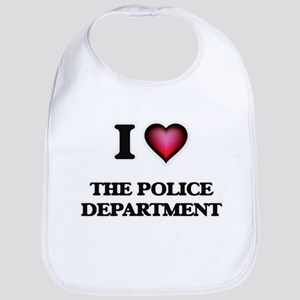 I love The Police Department Baby Bib
