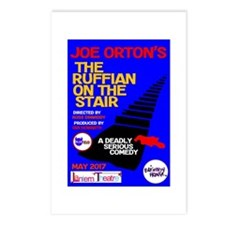 Ruffian On The Stair Postcards (package Of 8)