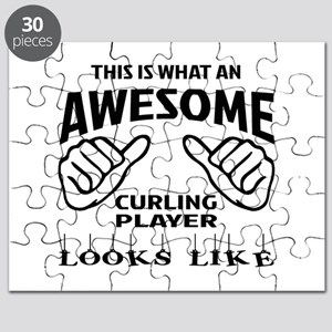 This is what an awesome Curling player Puzzle