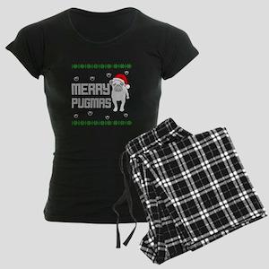 Merry Pugmas T Shirt Pajamas