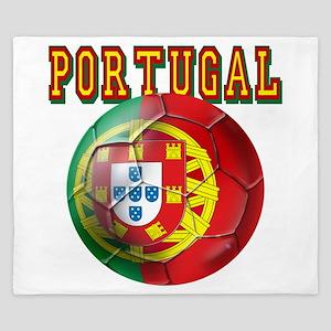 Portugal Soccer Futebol King Duvet