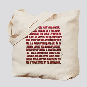 Office Space Milton Tote Bag