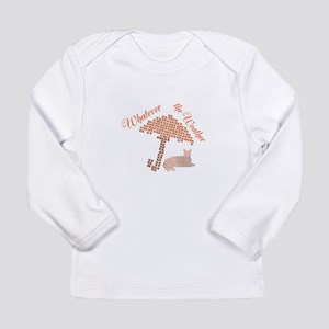 Cool Funny Whatever the Weather Cat Long Sleeve T-