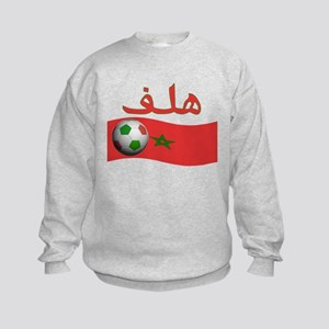 TEAM MOROCCO ARABIC GOAL Kids Sweatshirt