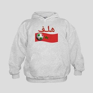 TEAM MOROCCO ARABIC GOAL Kids Hoodie