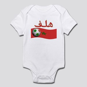 TEAM MOROCCO ARABIC GOAL Infant Bodysuit