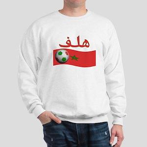 TEAM MOROCCO ARABIC GOAL Sweatshirt