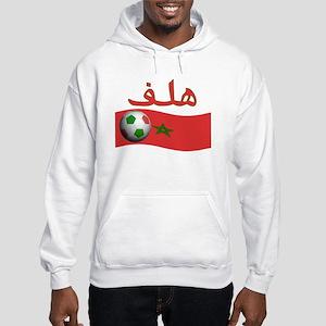 TEAM MOROCCO ARABIC GOAL Hooded Sweatshirt